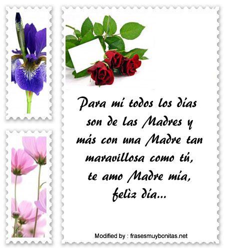 Gratis Lindos Mensajes Por El Dia De La Madre Mensaje De Amor