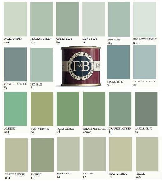 Swedish Interiordesign:  Swedish Furniture & Decorating : Farrow And Ball Paints