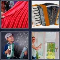 4 pics 1 word 9 letters accordion 4 pics 1 word game pinterest 4 pics 1 word 9 letters accordion expocarfo Images