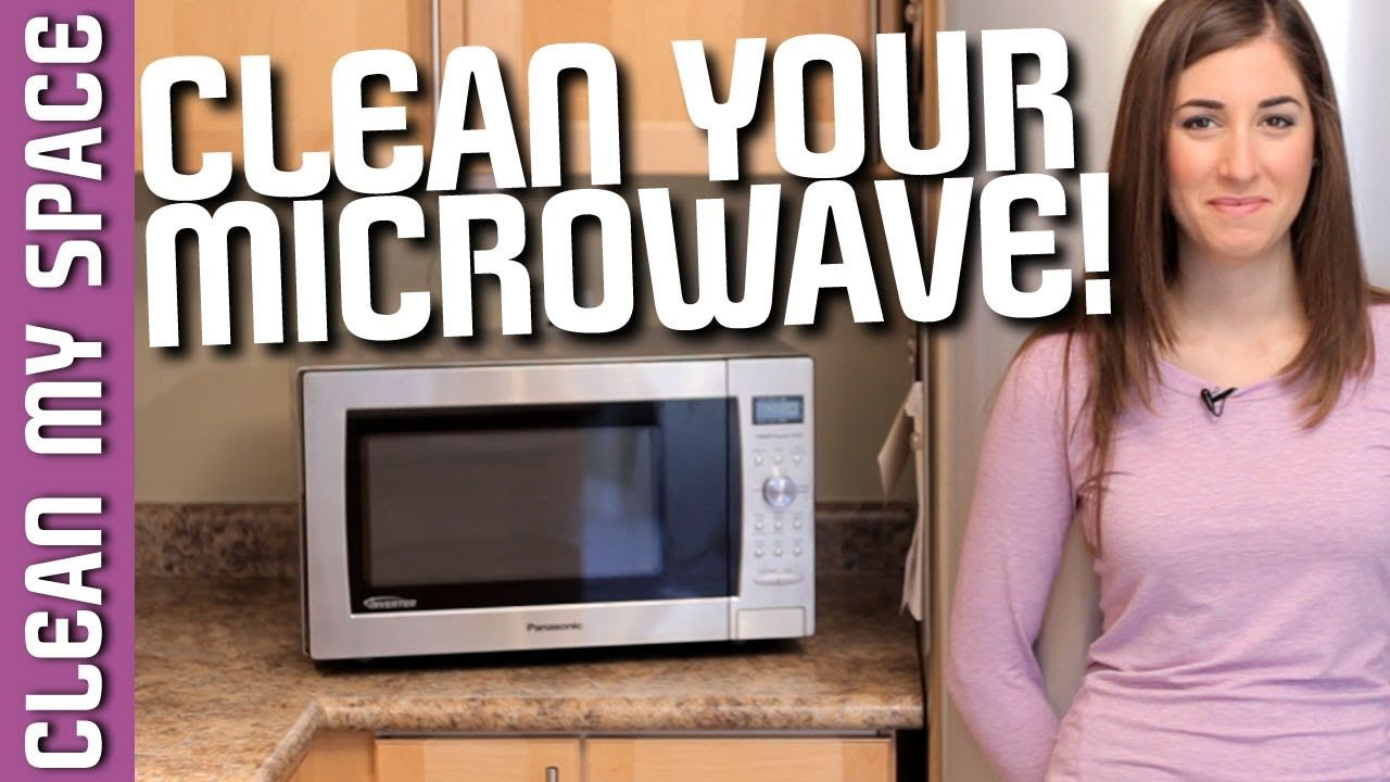 How to clean a microwave easy kitchen appliance cleaning