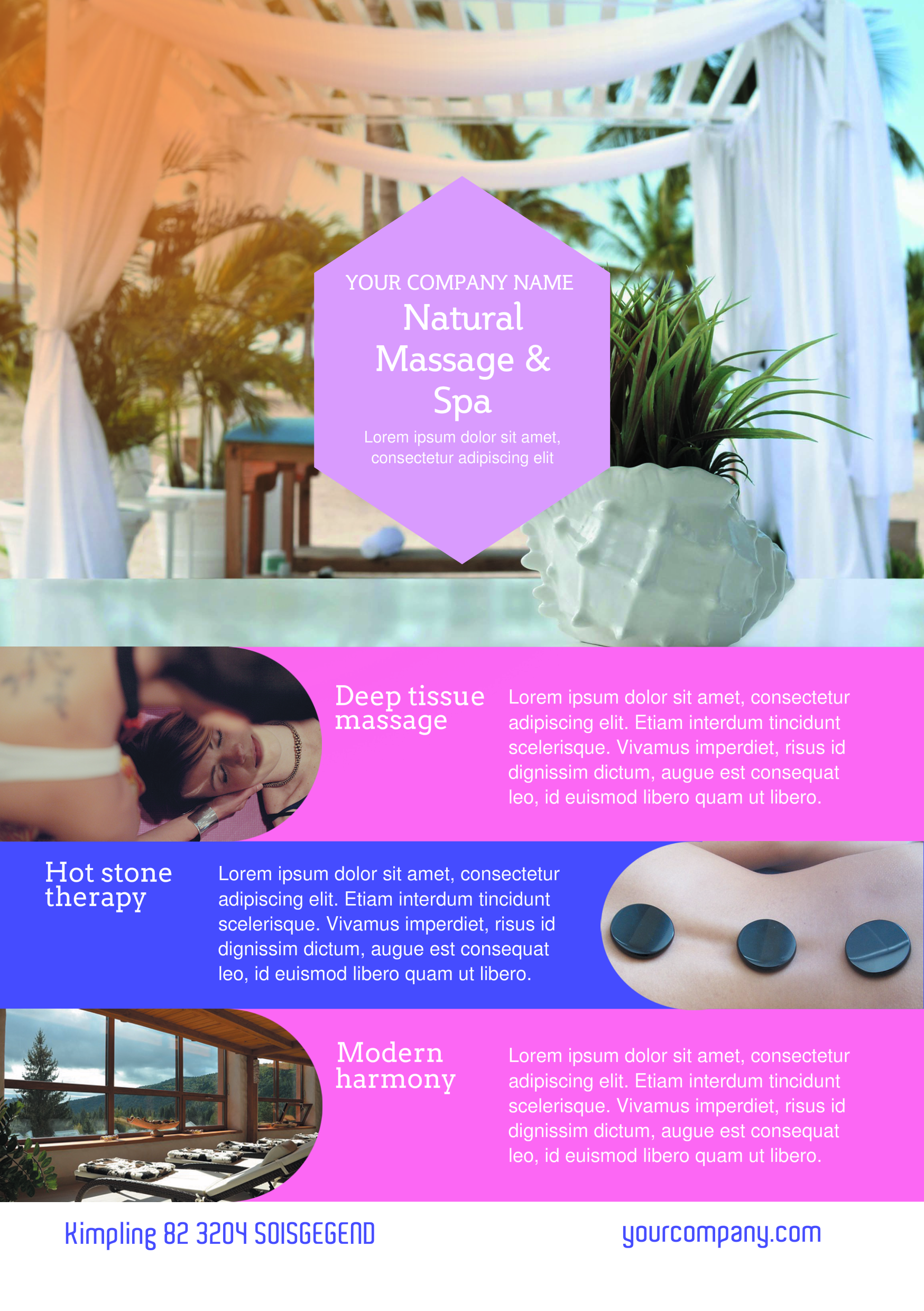 therapy flyer template