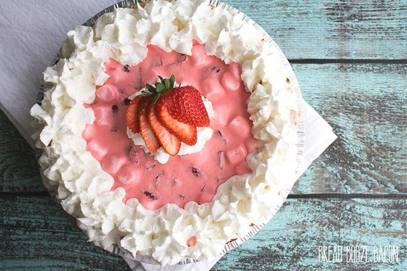 Strawberry Fluff Pie is a no-bake summer dessert that's a strawberry flavor explosion everyone loves!