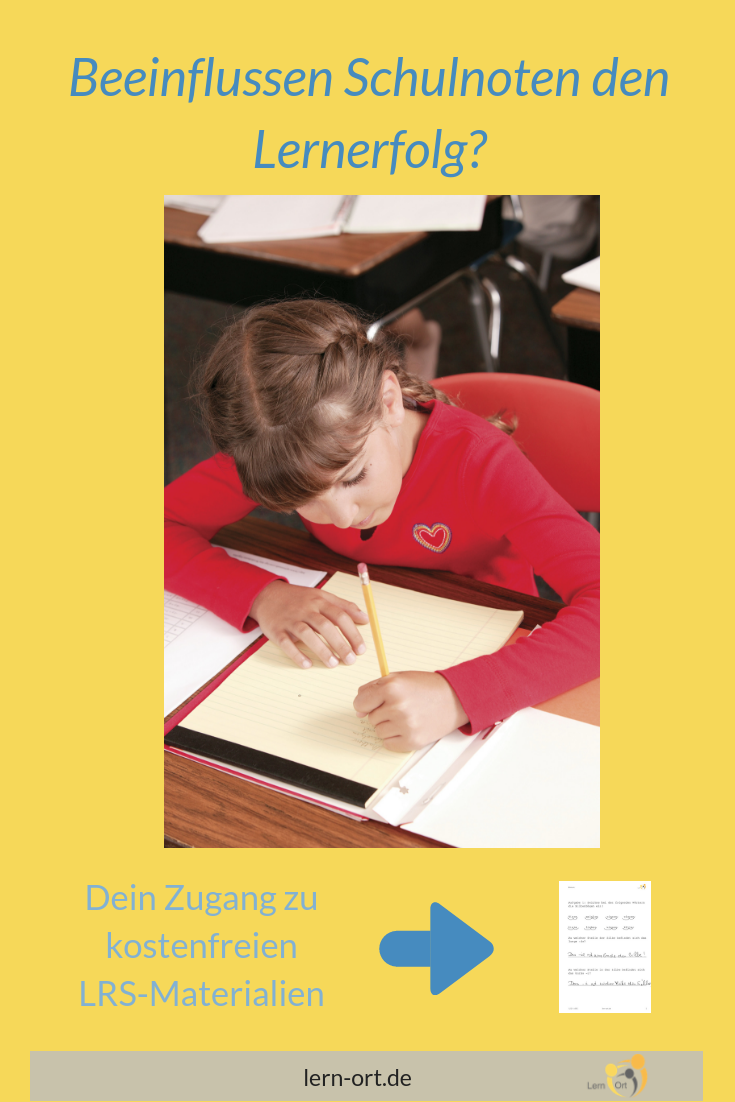Negative Auswirkung Von Noten Auf Den Schulerfolg Schulnoten Lernen Lernschwierigkeiten