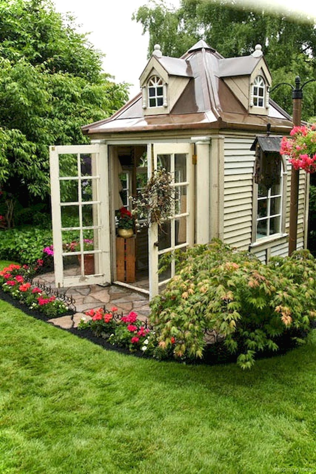 50 Clever Garden Shed Storage Ideas | Organizations, Gardens and Patios