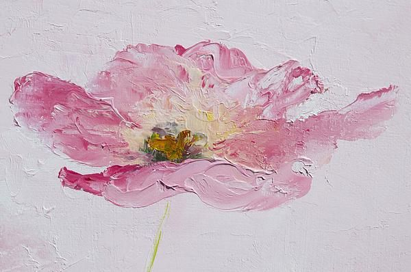 Single pink poppy print from $32, Flower art, home decor, designer ...