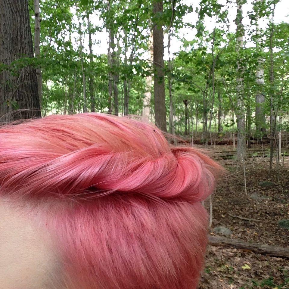 My Favorite Dye Job Yet A Mix Of Argan Oil Semi Permanent Hair Dye