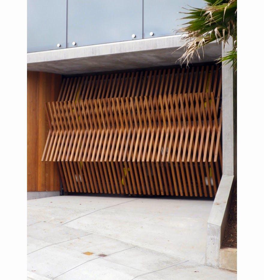 Portones de madera modernos buscar con google - Portones de madera para exterior ...