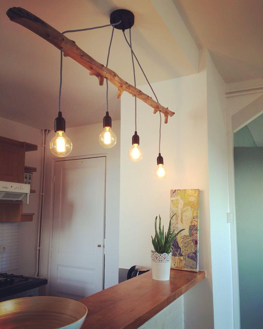 Homemade Wood Light Creation Home Office Design Diy Stuff Track Lighting Projects