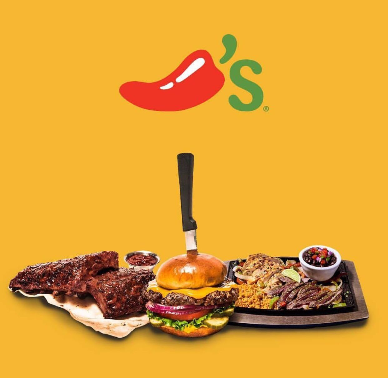 If you love Chilis, be sure and download the Dosh App and