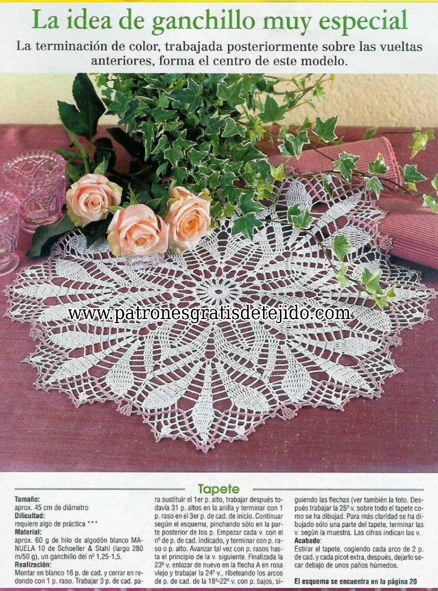 Refista gratis de crochet para descargar   crochet   Pinterest ...