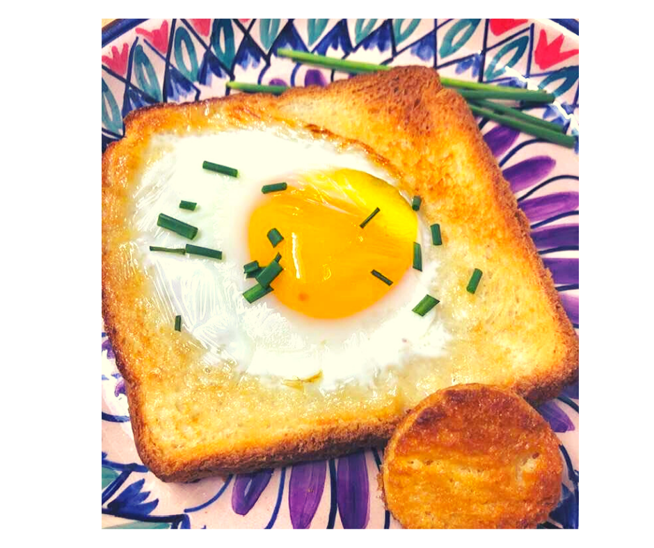 Air Fryer, EggInThe Hole Recipe in 2020 (With images