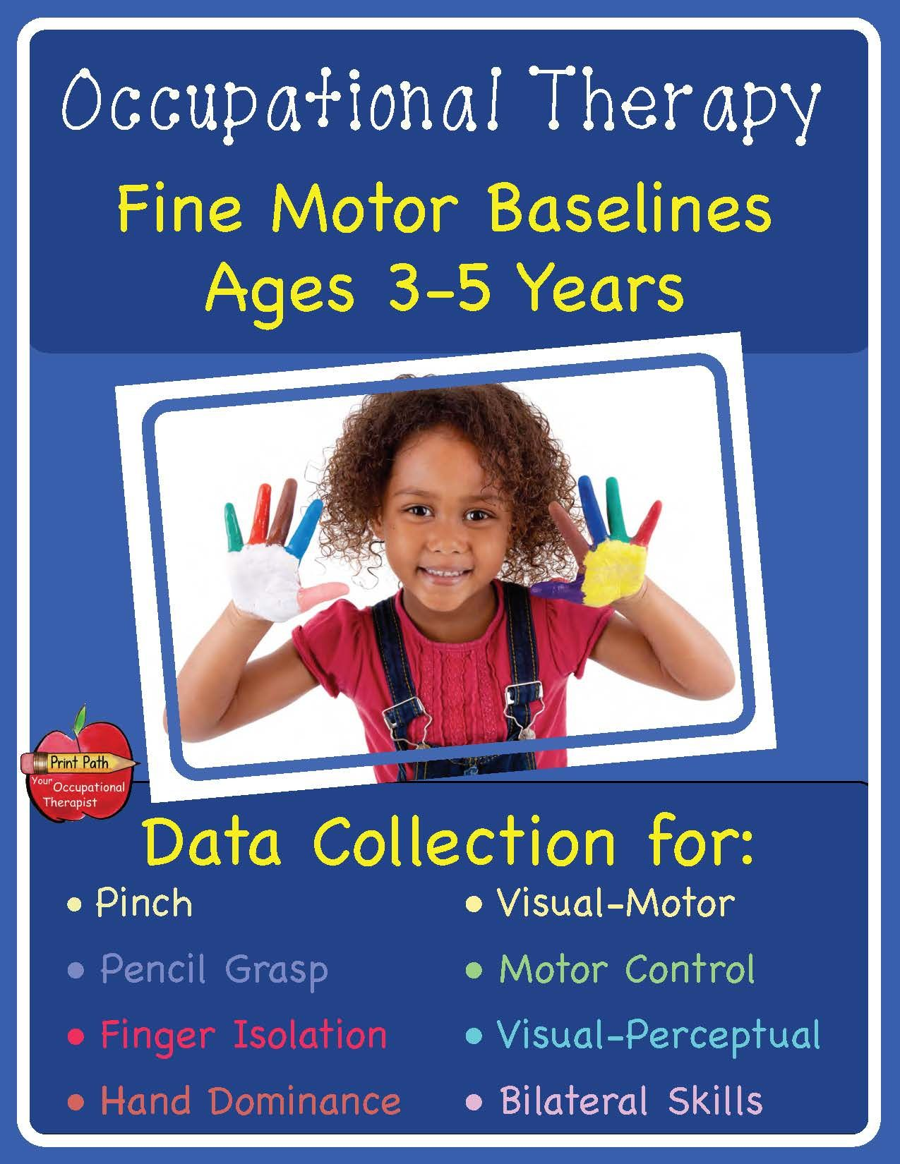 Occupational Therapy Fine Motor Baselines