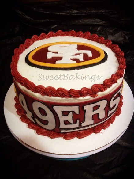 49ers Cake Perhaps This Years Birthday Cake For Me Hint Hint