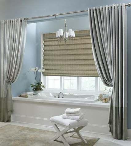 bath room window curtains over tub valances 54 ideas