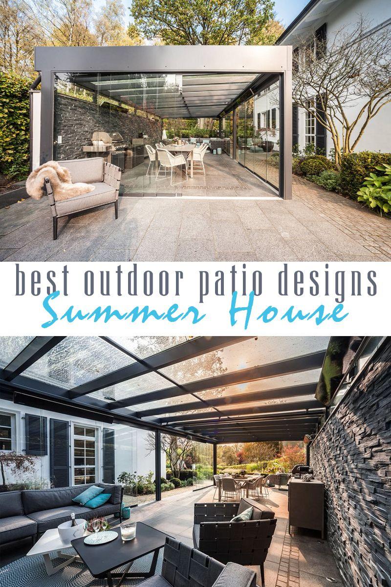 Wonderful Outdoor Living Spaces That Combine Comfort And Beauty Craft Mart Patio Design Outdoor Patio Designs Patio