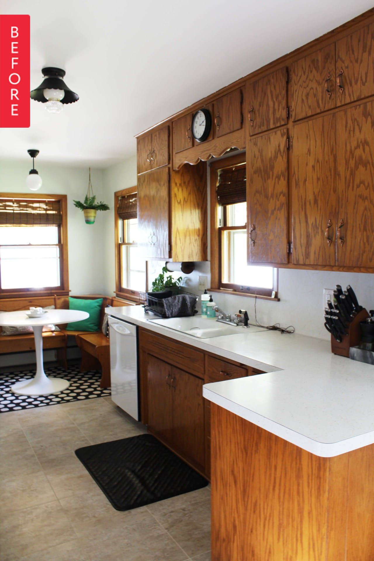 1960s Kitchen Remodel Before After: Before & After: A 1960s Kitchen Opens Up For Under $200