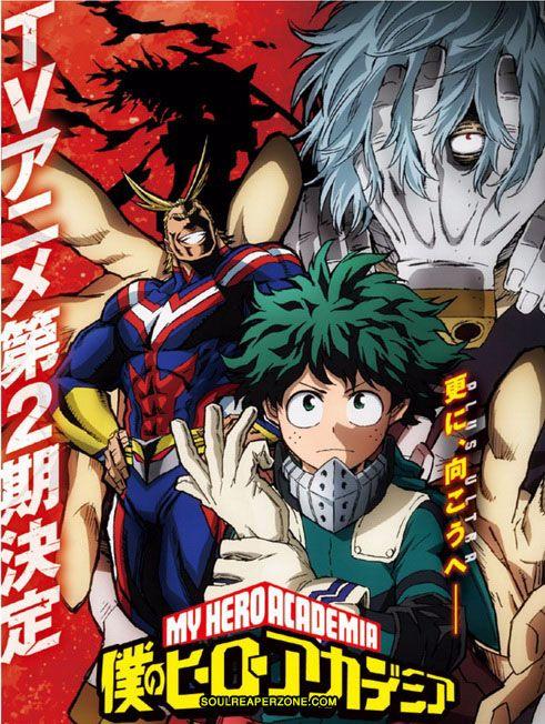 My Hero Academia Season 2 English Dubbed Hero Academia Season 2