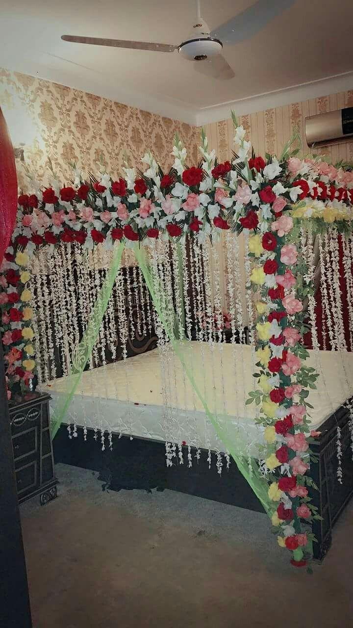 Pin By Dacan Fancy Flower On Wedding Shadi Bed Sej Masehri