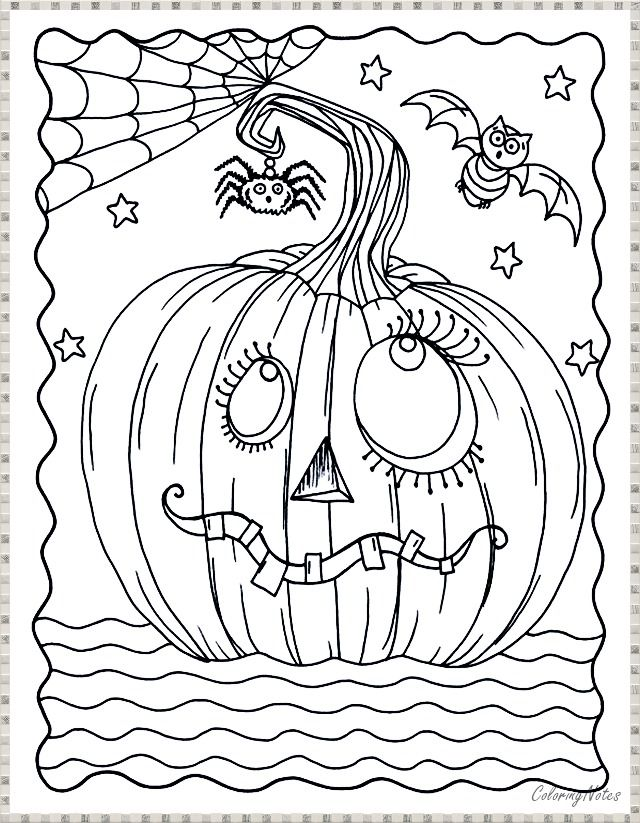 Pumpkin coloring page Halloween Pumpkin coloring pages
