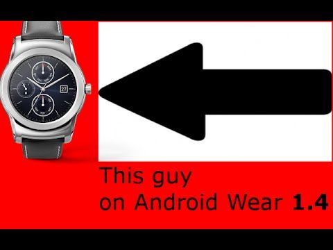 cool Android Wear 1.4 review (again) Check more at http://gadgetsnetworks.com/android-wear-1-4-review-again/