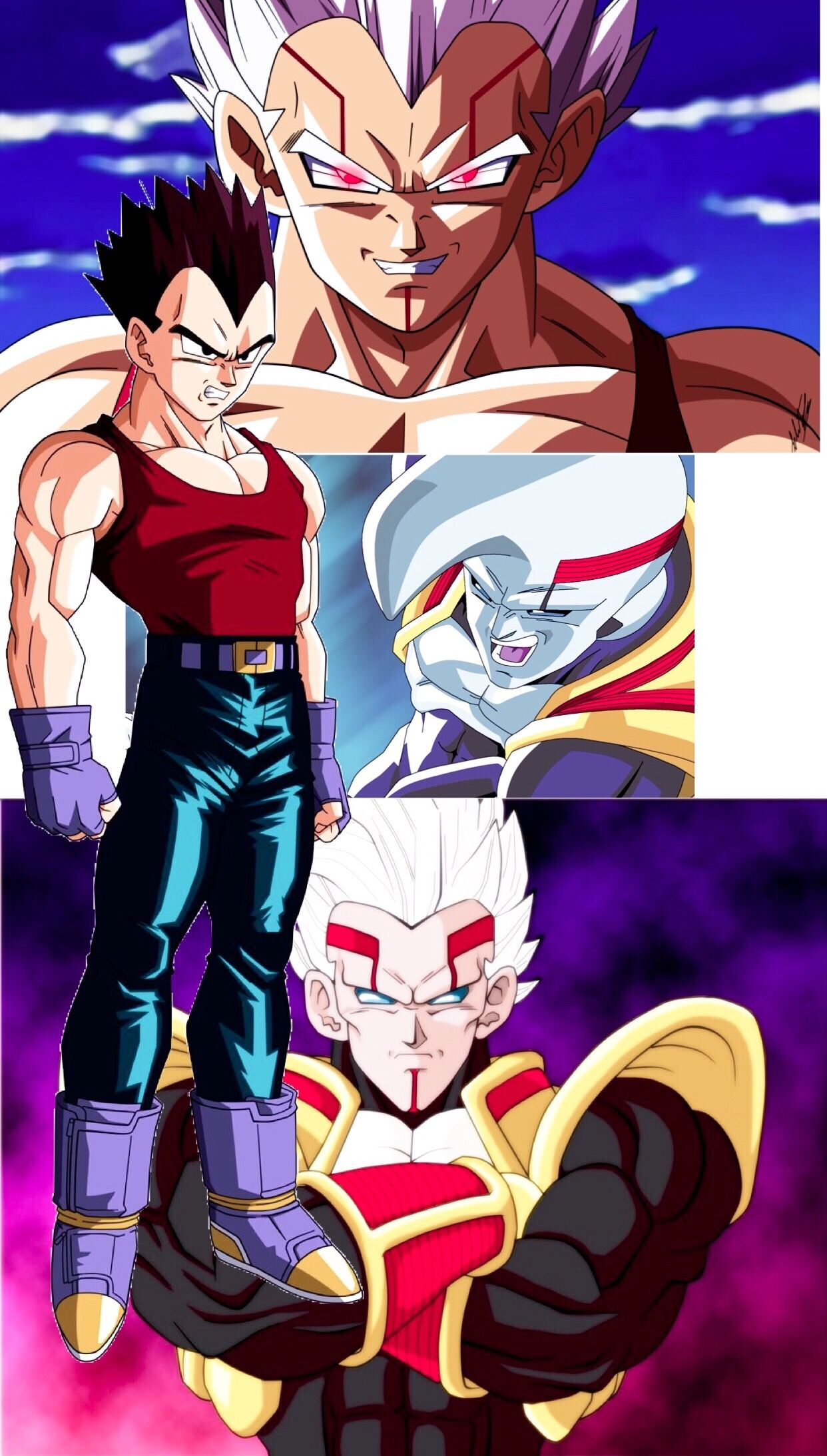 Vegeta Baby Super Saiyan Super Saiyan 2 Original Anime Drago