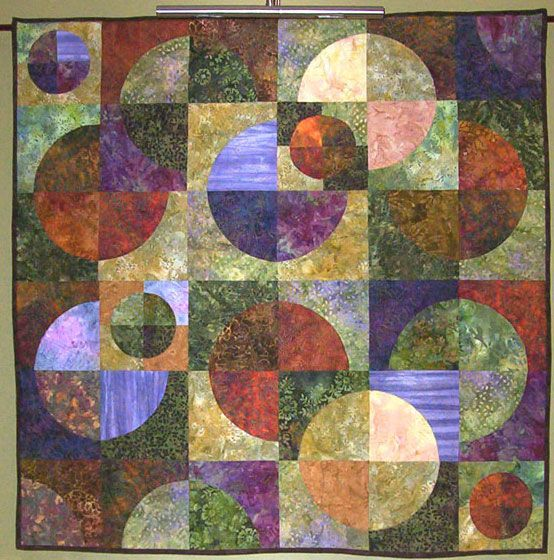 Free Traditional Quilting Patterns : Modern Art Quilts Contemporary Quilt vs Traditional Quilter modern quilts Pinterest ...