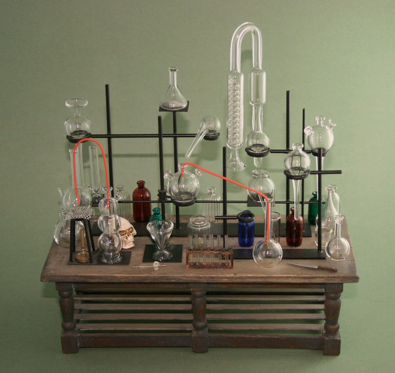1/12scale lab, completly hade made with hand blown glass