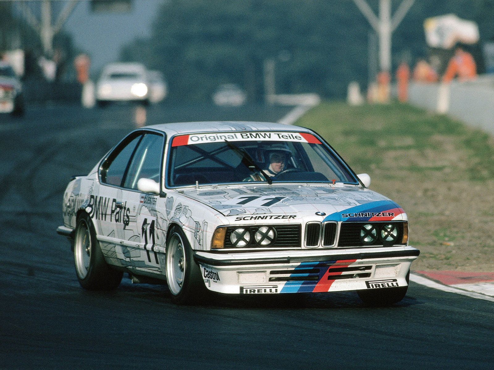 1986 BMW 635CSi touring car