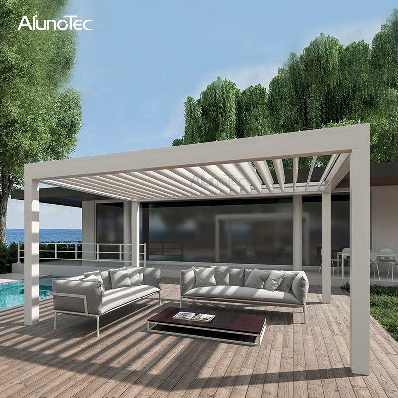 Metal Shade Gazebo Waterproof Awning Louvered Roof For Pergola Buy Louvered Roof For Pergola Waterproof Pergola Sh In 2020 Aluminum Pergola Outdoor Pergola Pergola