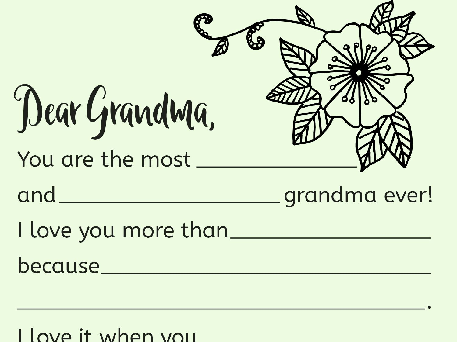 Your Child Can Show Grandma Just How Special She Is With