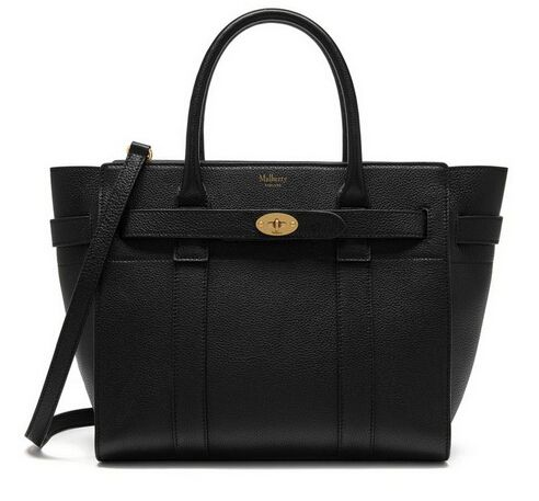 Winter 2016 Mulberry Small Zipped Bayswater Black Small Classic Grain 103c300245660