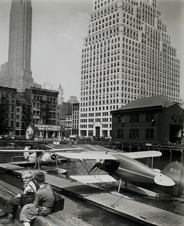 1930s New York By Berenice Abbott