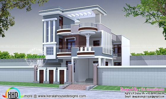 30x60 modern decorative house plan