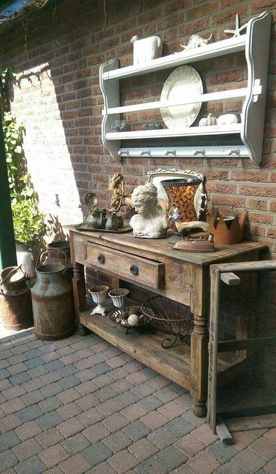 Pin by Die Memi on Garten \ - solarleuchten garten antik