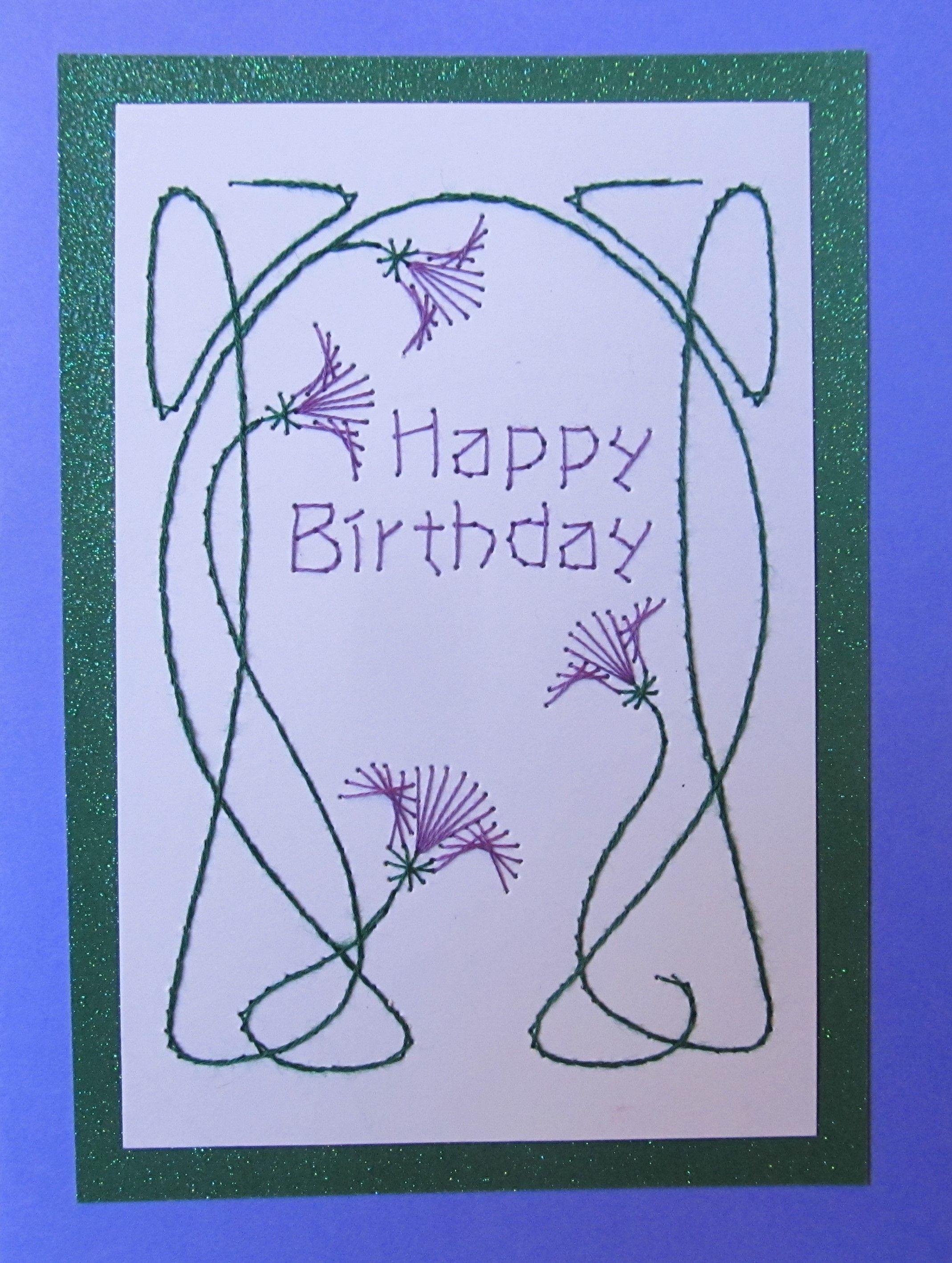Happy Birthday Art Nouveau