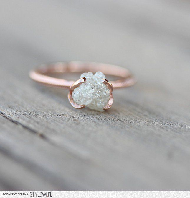 20 Rose Gold Wedding Bands to Make You Blush Unique Ring and Jewlery