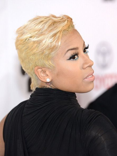 blonde hair Keyshia cole short