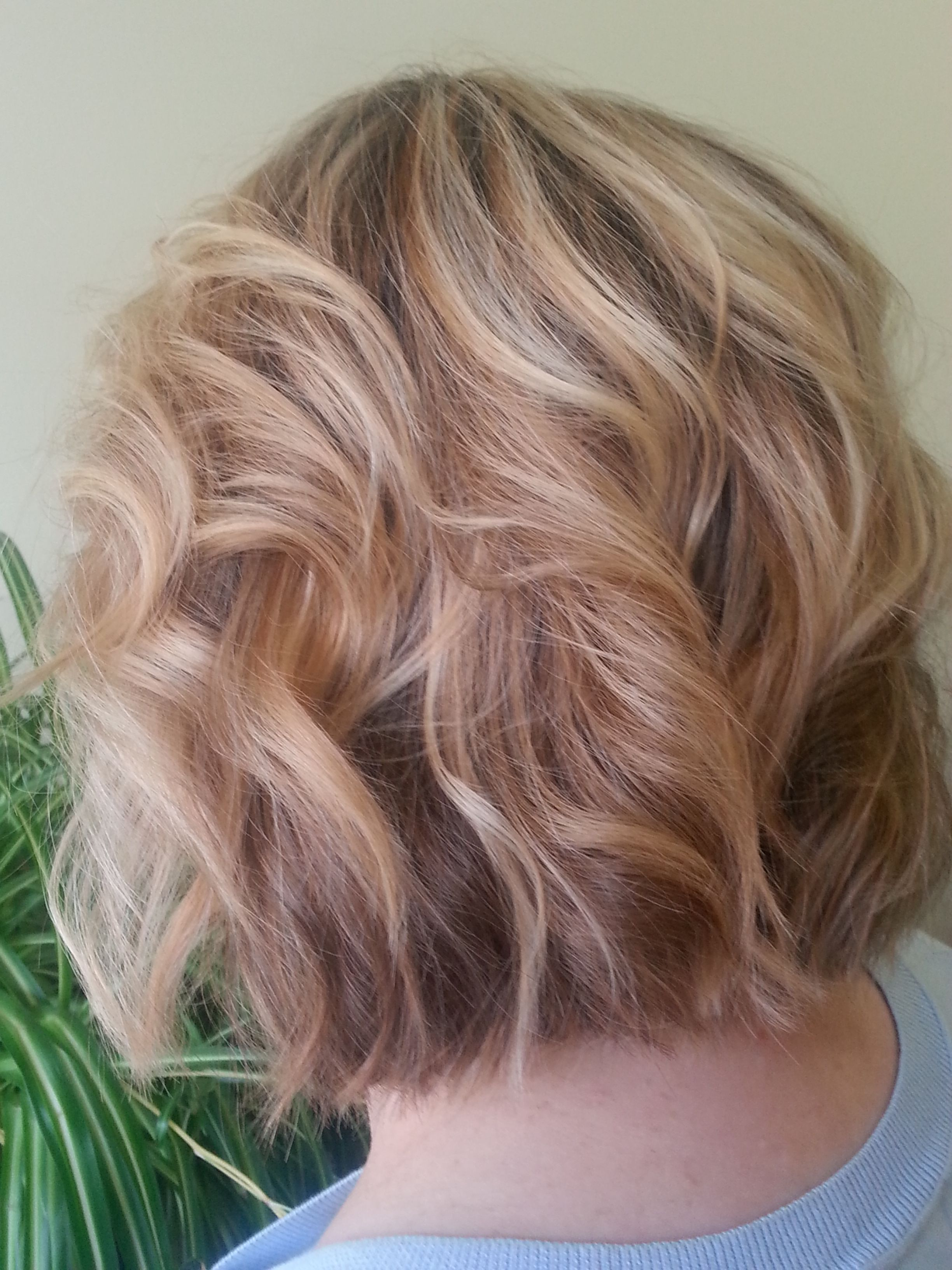 Wondrous Blonde Balayage On Short Hair With Long Layers Color And Cut By Hairstyles For Men Maxibearus