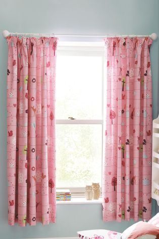 Buy Woodland Pencil Pleat Blackout Curtains From The Next UK Online Shop