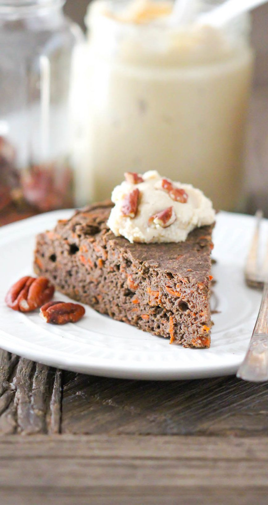 Healthy Buckwheat Carrot Cake