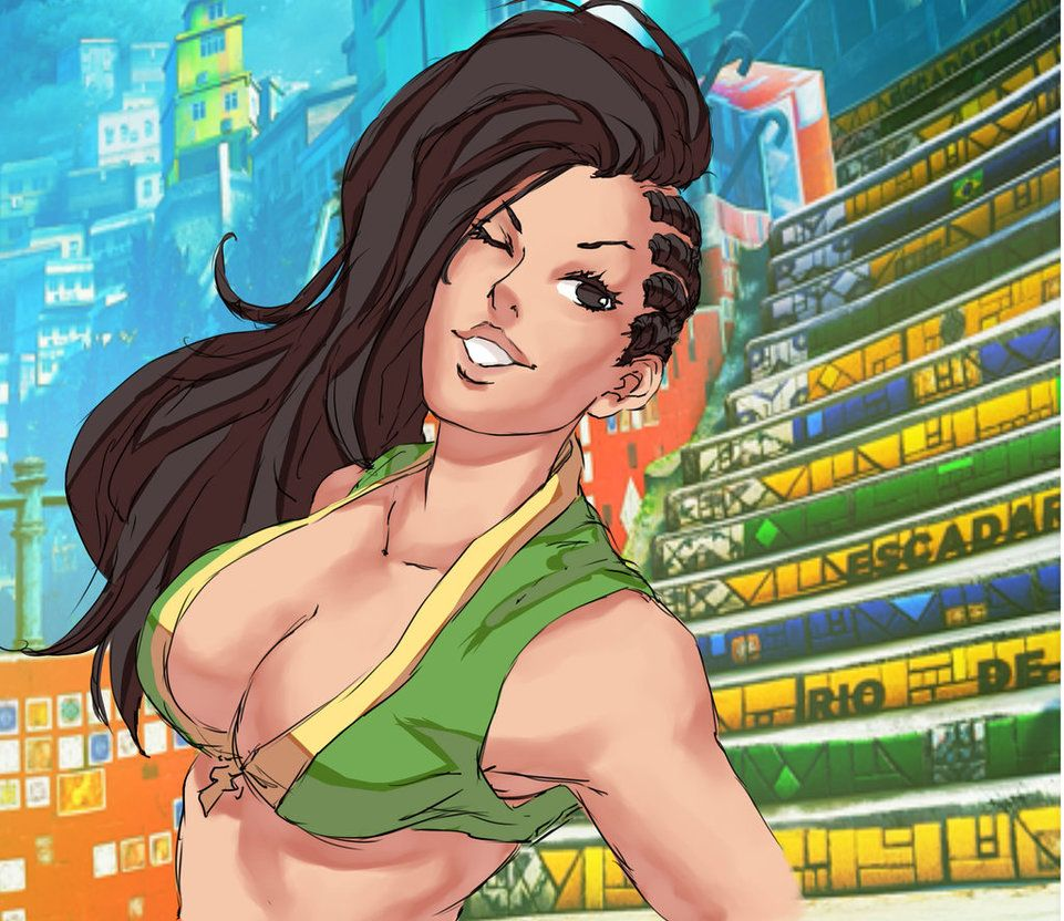Laura - Street Fighter V by Mick-cortes on DeviantArt