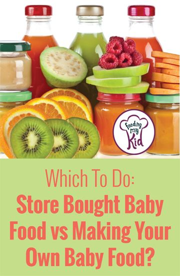 baby food diet cons