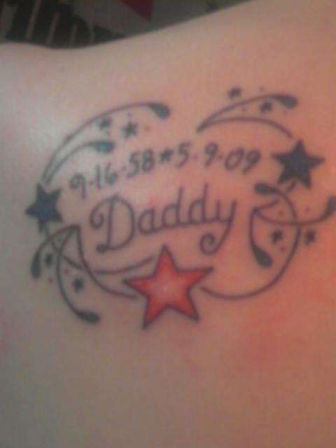 9c9e080c2 Small Tattoos In Memory Of A Loved One | memory to my dad tattoo ...