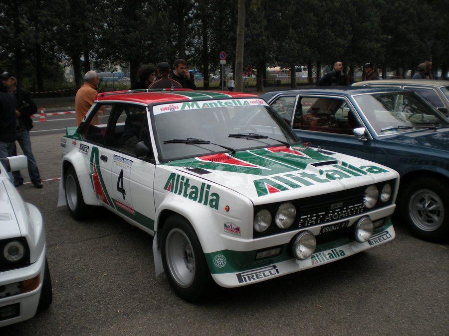 Fiat 131 Abarth Rally Alitalia By Franco Roccia On Deviantart