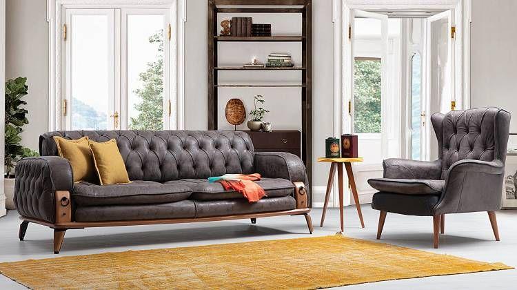 Beyoglu Modern Koltuk Takimi Two Luxury Home Furniture Home Furniture Luxury Furniture