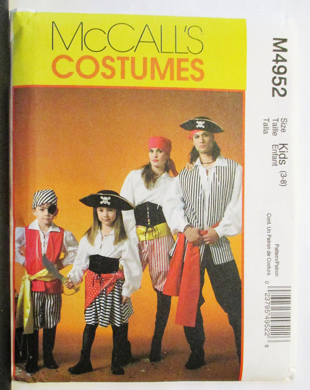 Pirate Costume Pattern New Decorating