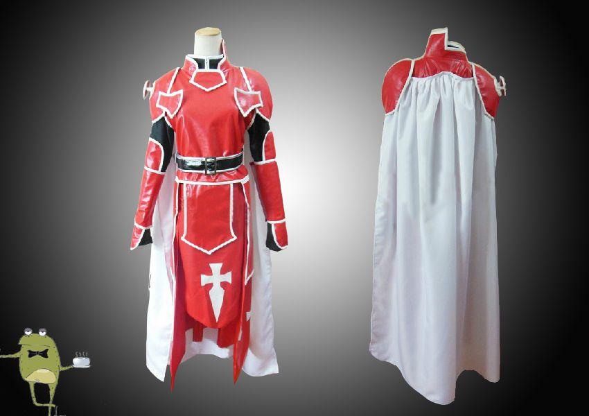 SAO Knights of Blood Heathcliff Cosplay Costume Tailored Sword Art Online  Knights of Blood Heathcliff Cosplay