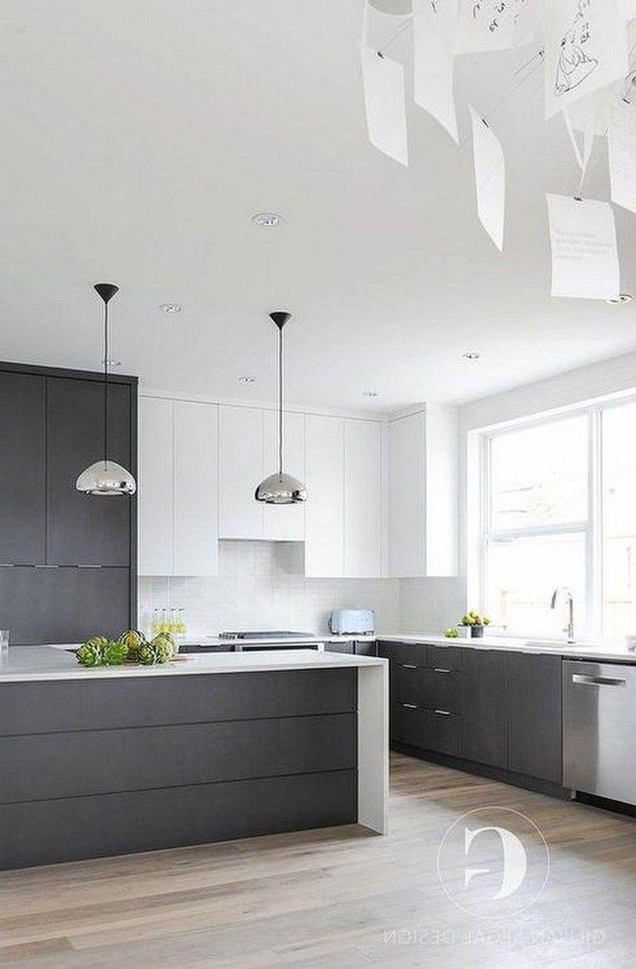 40 Inspiring Dark Grey Kitchen Design Ideas
