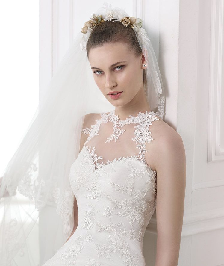 Wedding Dress Online Boutique Malaysia Top Quality Illusion High ...