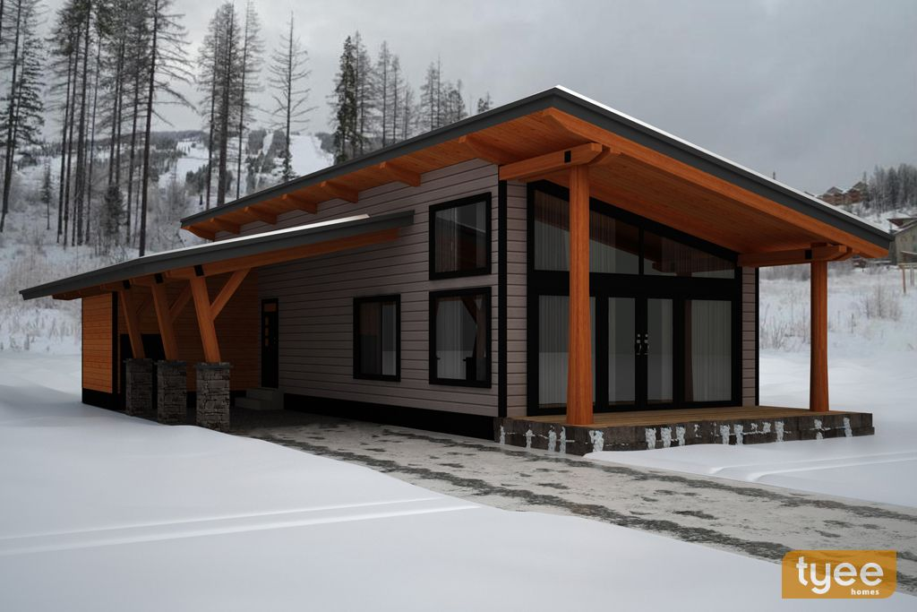 Tyee Log Homes   Official Site is part of Small modern home -